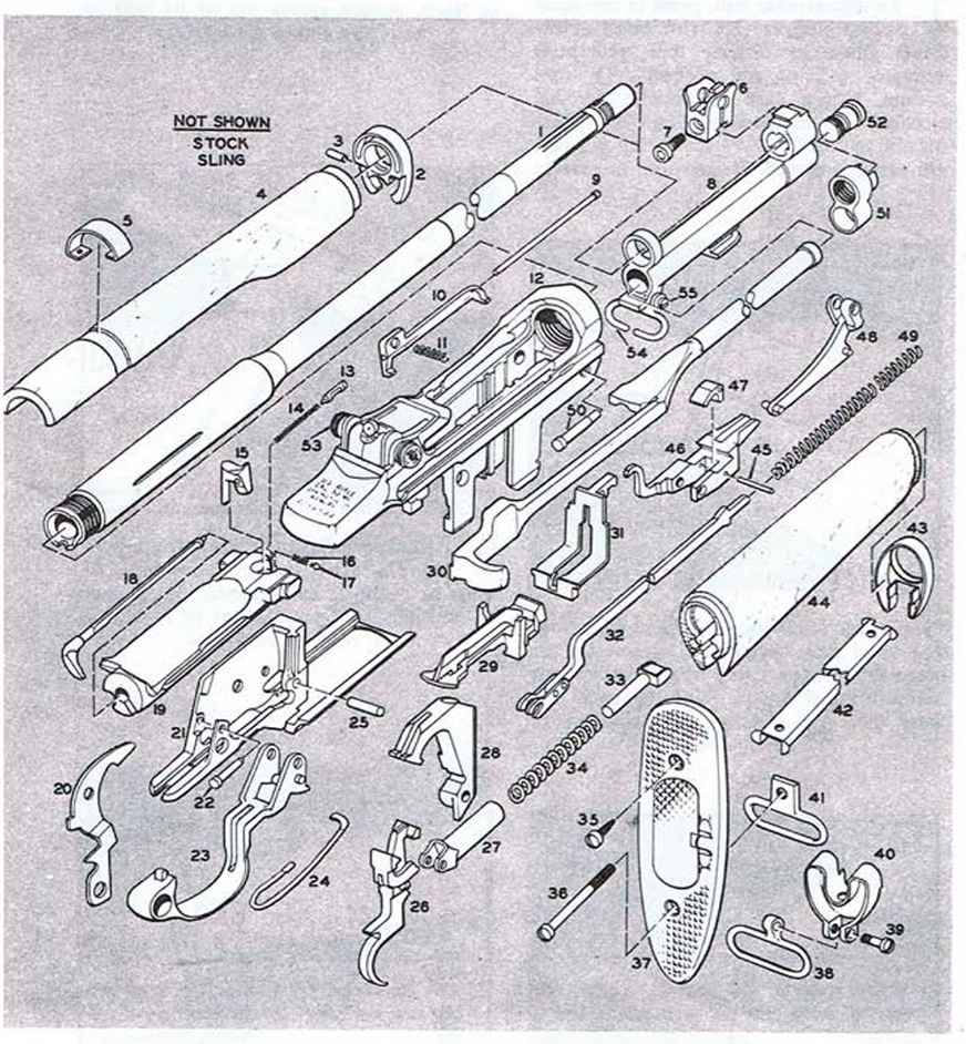 Browning Automatic Rifle Blueprints