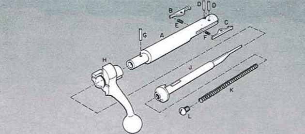 Extractor Screws Rifle