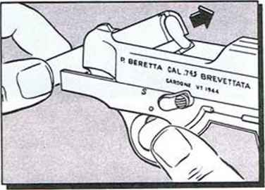 Beretta Safe Position