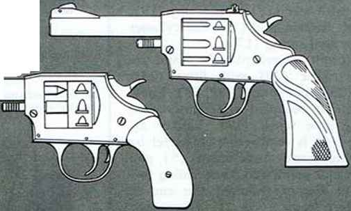 Cross Section Revolver