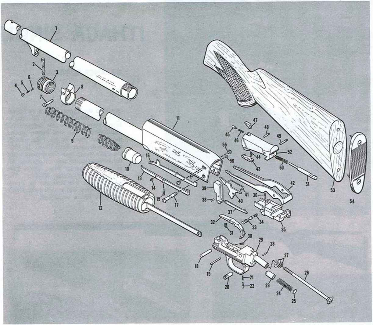 Ithaca Model Trigger Assembly