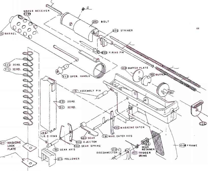 Intratec Parts Diagram