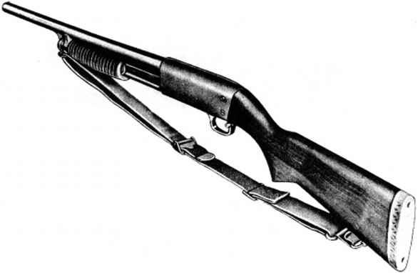 Figure 2 12 Gauge Ithaca Shotgun Model 37