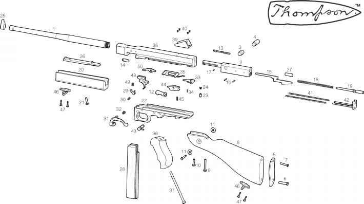 model tm parts list