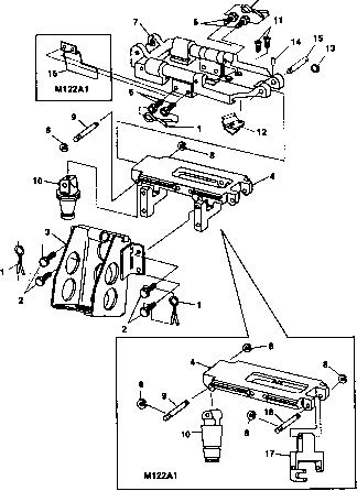 Flexible Machine Gun Mount Maintenance Instructions Cont