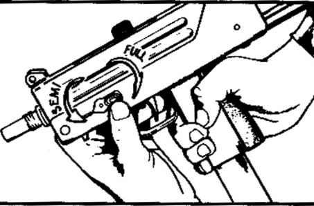 Faring the ftcUrn torn - MAC M10 M11 Submachine Gun