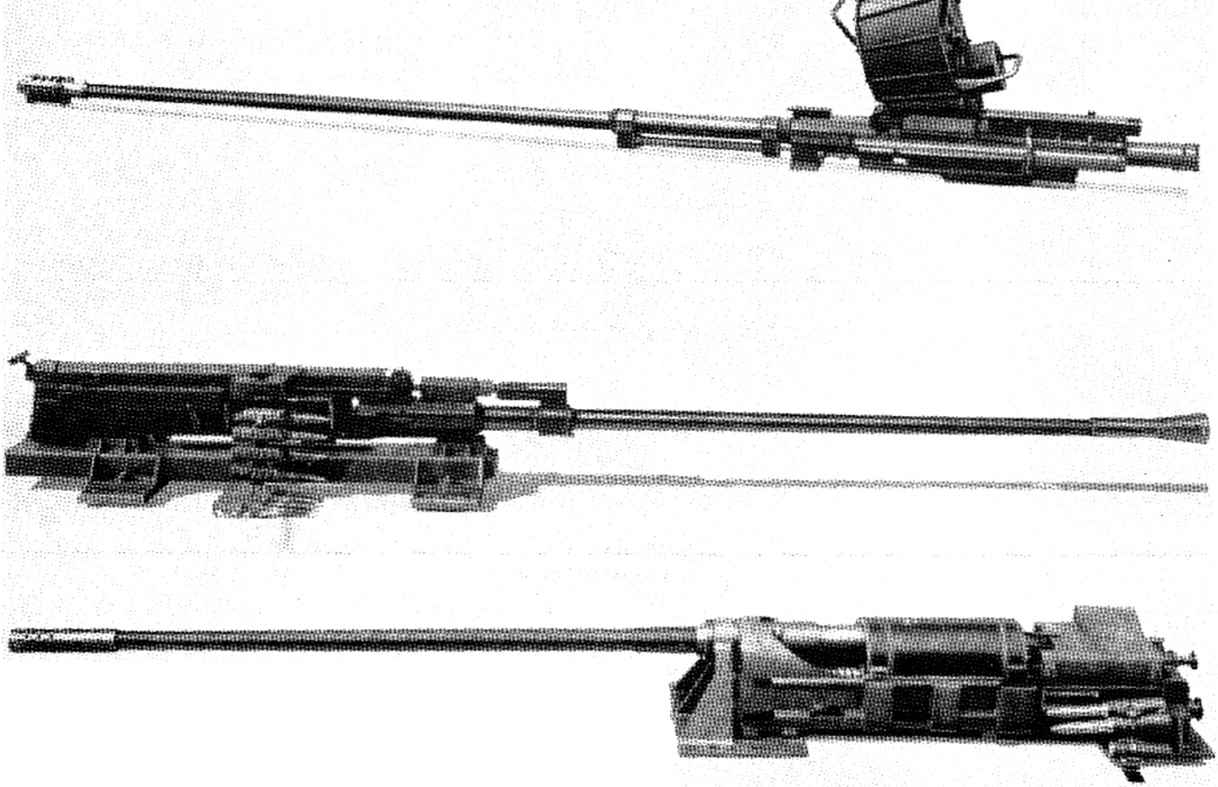 types of machine guns