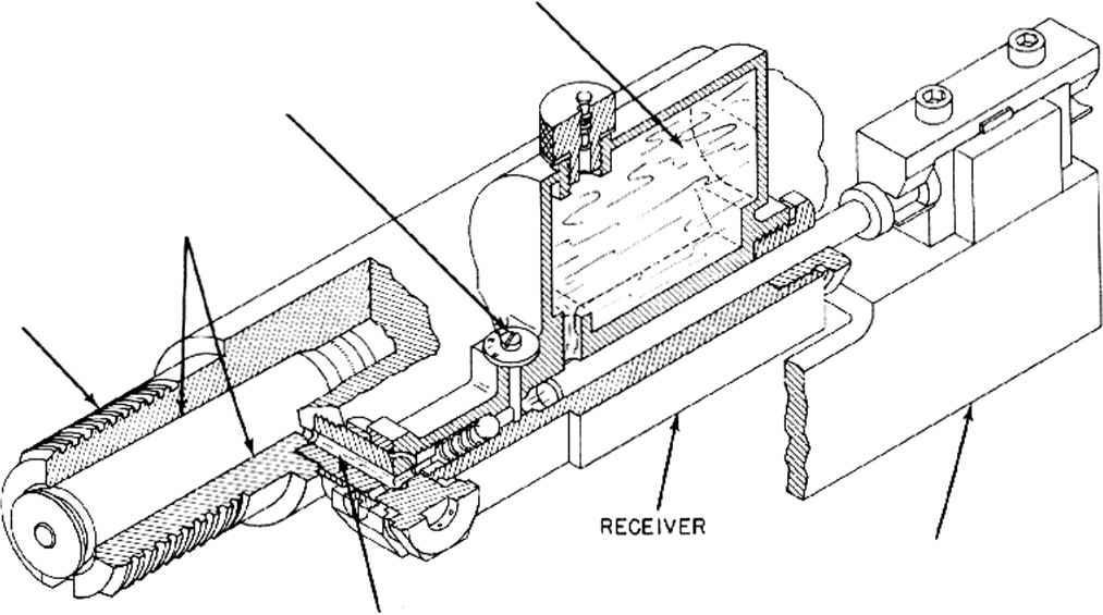 40mm Gun Magazine Feed Drawing