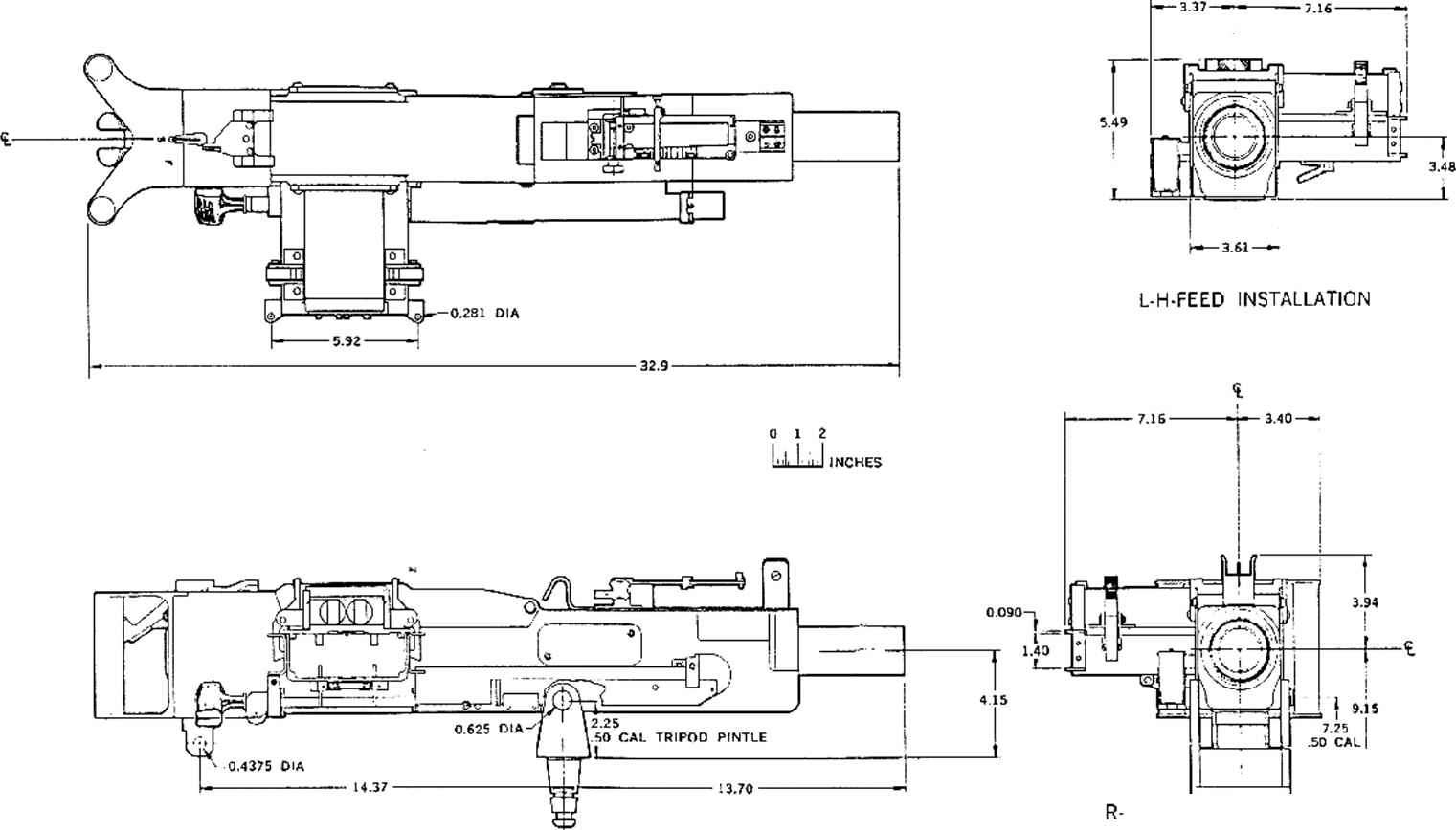 50 Caliber Mg Exploded Diagram Sample Wiring Fotos 1911 A1 Parts Http Www Bevfitchett Us Ruger P Series Hughes Tool Company Presently Mcdonnell Douglas Machine Gun V5 Rh