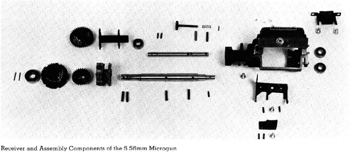 General Electric - Machine Gun V5 - Bev Fitchett's Guns ... Minigun Bullet Wound