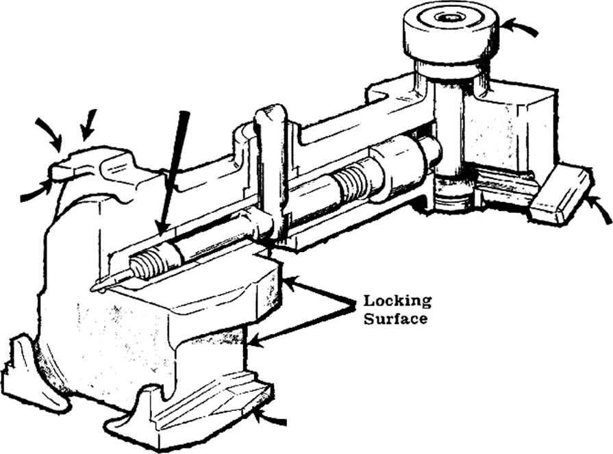 bolt design - machine gun v5