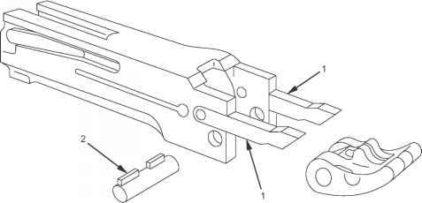 m2hb barrel buffer machine guns m2 heavy barrel M1 Carbine Parts Diagram m2hb depressors