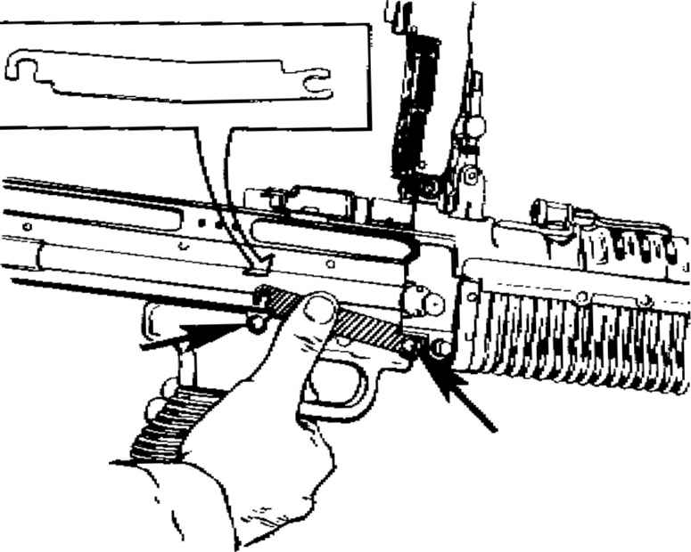M60 Machine Gun Disassembly - Machinegun 7 62mm M60