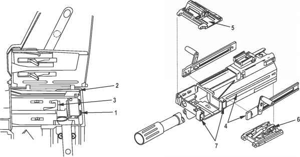 pump action shotgun internal assembly