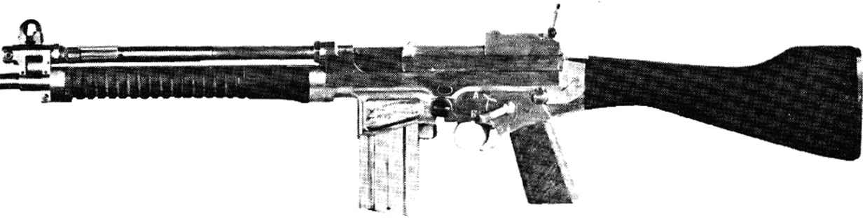 Experimental Browning Automatic Rifle