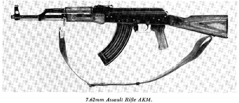 Union Of Soviet Socialist Republics - Modern Rifles