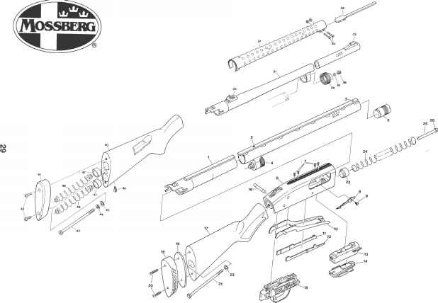 mossberg 930 exploded-view related keywords