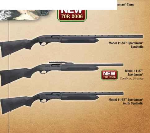 Info - Remington 2006 Firearms - Bev Fitchett's Guns Magazine