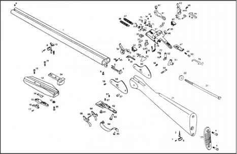 remington model 98 diagram