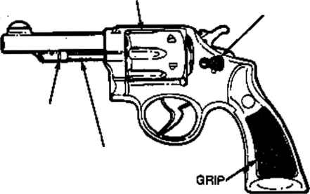 revolver 38 parts revolver cal 38 special s w 38 S&W Special 10 7 revolver plans