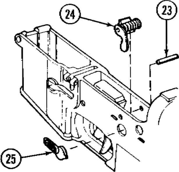 ar 15 auto sear diagram