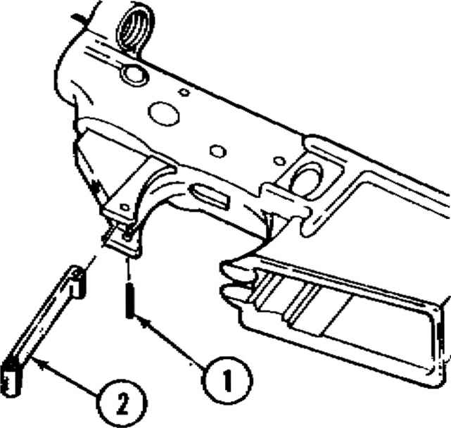 M16a1 Disassembly