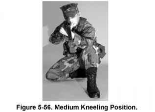 Low Kneeling With The Hasty Sling