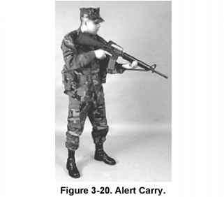 Marine Rifle Alert Carry