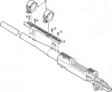 Lee Enfield Exploded View