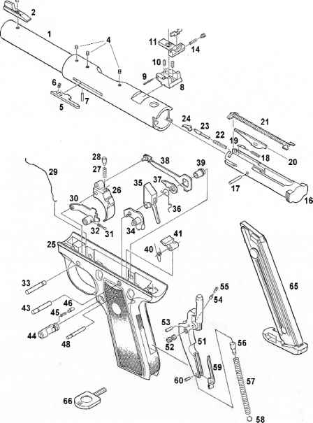 ruger mark iii exploded view