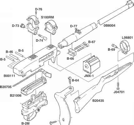 Ordering Parts Ruger Model 10 22 Magnum