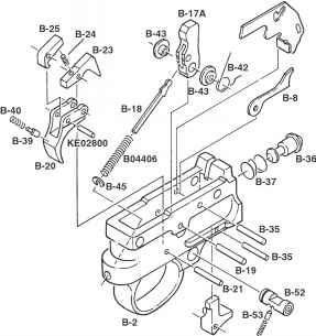 10 22 Full Auto Parts KEdbl0 i690FC2L1UUzILyocfA8uBsn1ogqYkxu8v5c moreover Honda Lawn Mower Carburetor Gasket Diagram in addition Cad as well Honda Gcv 160 Parts Diagram Model Html in addition Spring Vdu. on ar 15 auto sear diagram