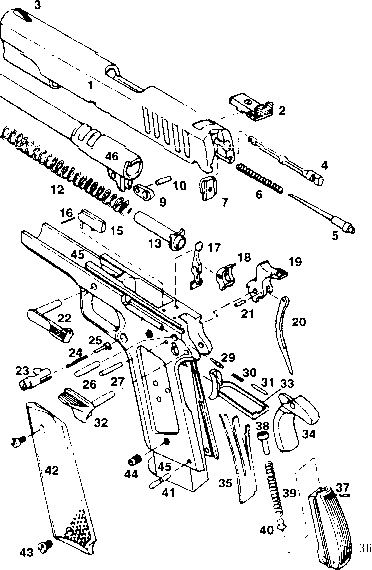 Parts List Safari Arms 1911 Enforcer Bev Fitchett S