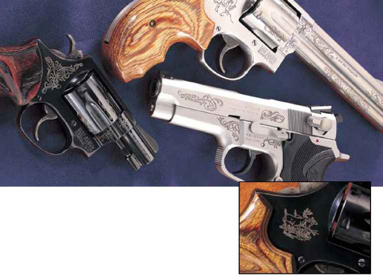 Handguns With Engraving