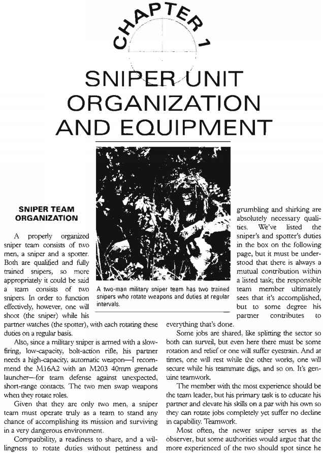 The Ultimate Sniper Military Instructors Sniper Training