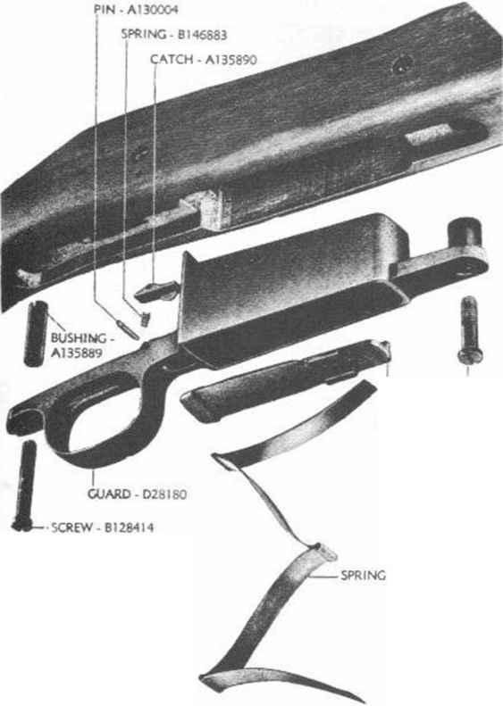 A Telescopic Sight Group Rifle MA  Springfield M1903 M19
