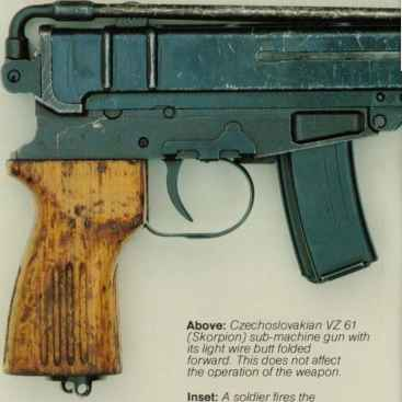 Skorpion Machine Pistol