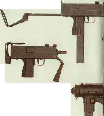 Old Sub Machine Gun