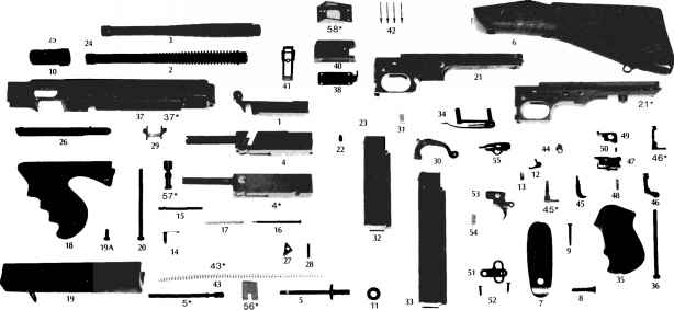 Disassembly Of Your M Fullauto - Thompson 1927 A 5 1928 Full
