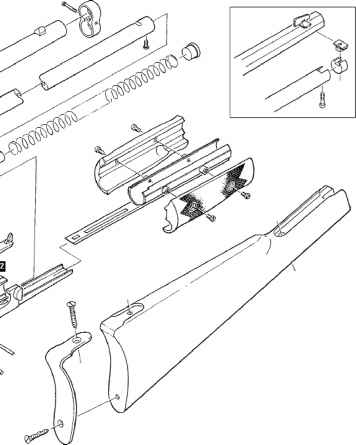 Colt Lightning Rifle Disassembly